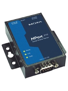 1 Port Serial Device Server to Ethernet RS-232 DB9 M, mit Power Supply, op. Temp. 0-55° C