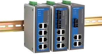 8-port Industrial Ethernet Switch, unmanaged 0 - 60°C