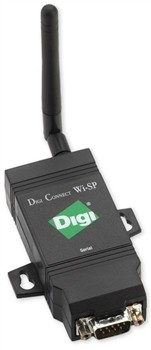 Wireless Serial Deviceserver,1 Port to Ethernet RS 232,422,485 (Digi: DC-WSP-01-S-W)