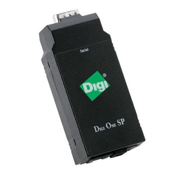 Serial Portserver,1 Port to Ethernet (Digi One SP) RS 232,422,485 (70001999)