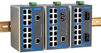 16-port Industrial Ethernet Switch, unmanaged 0 - 60° C
