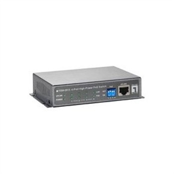 5 Port High Power PoE Switch PoE bis zu 48W pro Port,insges. 120W,unmanaged, z.Einsatz im POC-6000