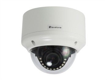 IP Netzwerk Kamera Dome,3 Megapixel POE,Vanda- proof, Indoor/Outdoor, IR LEDs, two-way audio