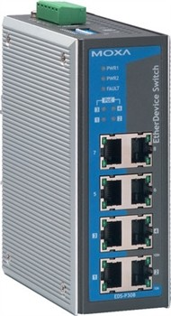 8-port PoE Industr.Ethernet Switch, unmanaged 0 - 60° C