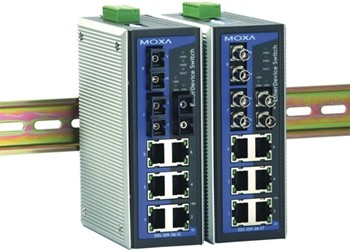6-port Industrial Ethernet Switch, unmanaged 0 - 60° C