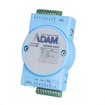Ethernet-enabled Comm. Controller with 8 DI/O