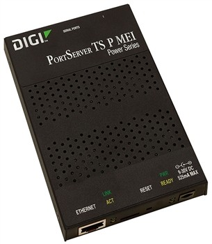 Serial Portserver 4 P.,DIGI TS4 P MEI,with powered Serialu.Ethernet,RS232,422,485 RJ45(DIGI 70001993
